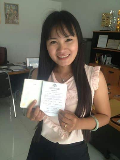 Holiday visa for my Thai girlfriend